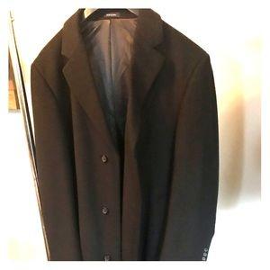 Men's long dress coat (CHAPS Ralph Lauren)